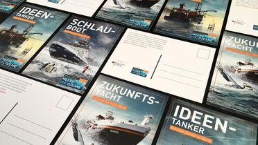 Kampagnenmaterial Postkarten