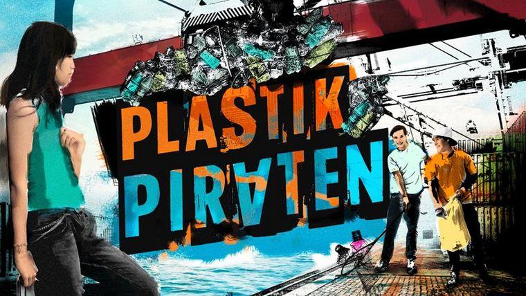 """Key Visual der Jugendaktion """"Plastikpiraten"""" im Wissenschaftsjahr."""