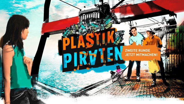 Key Visual der Plastikpiraten-Aktion 2017 im Wissenschaftsjahr