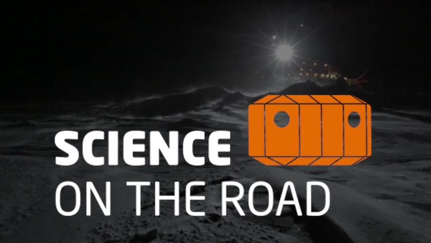 "Foto des Logo ""Science on the road"""