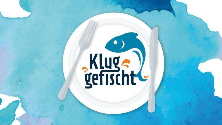 Logo des Rezeptwettbewerbs Edeka Rösle Fischer Fahrrad Wissenschaftsjahr Meere und Ozeane