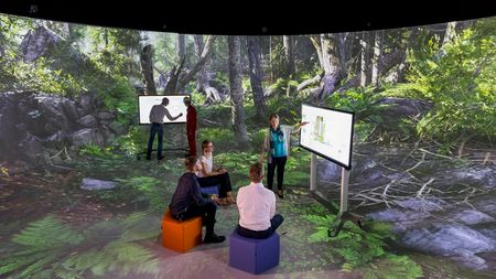 Virtual Development and Training Centre (VDTC) im Elbedome Mogdeburg